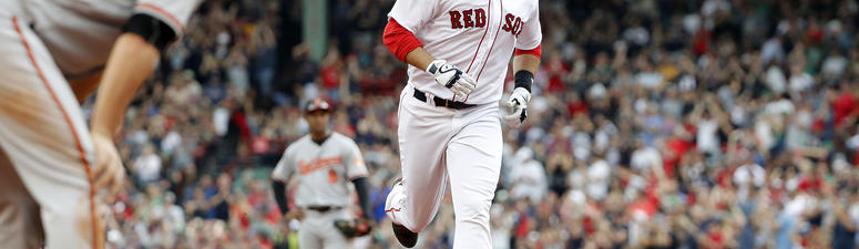Red Hot J.D. Martinez, Red Sox Blank Orioles 5-0