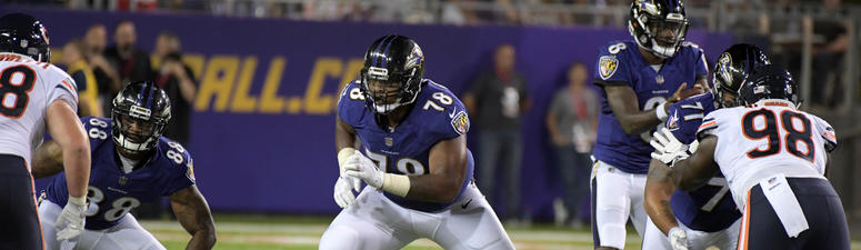 Orlando Brown: Body fat 'has changed' since joining the Ravens