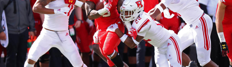 Lead by strong defensive play, Maryland dominates Rutgers 34-7