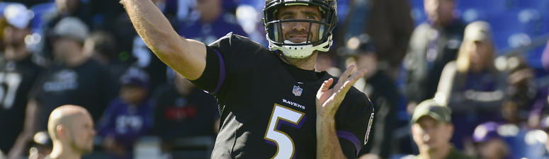"""Harbaugh: Injured Flacco """"Does Not Have to Practice to Play"""" Against Bengals"""
