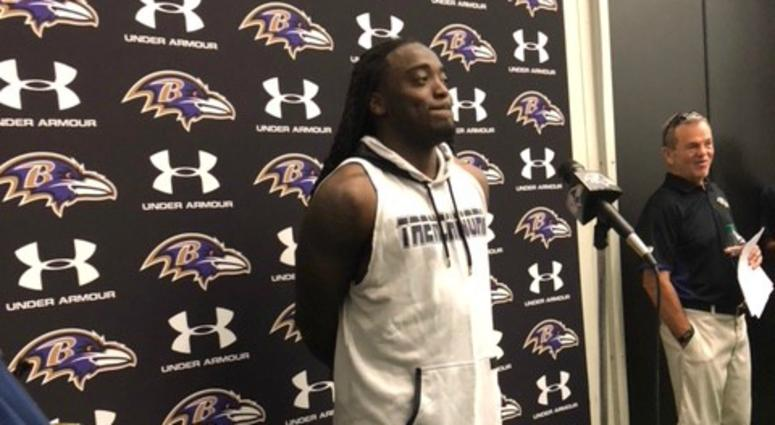 The Ravens began their first full practice of training camp on Thursday.