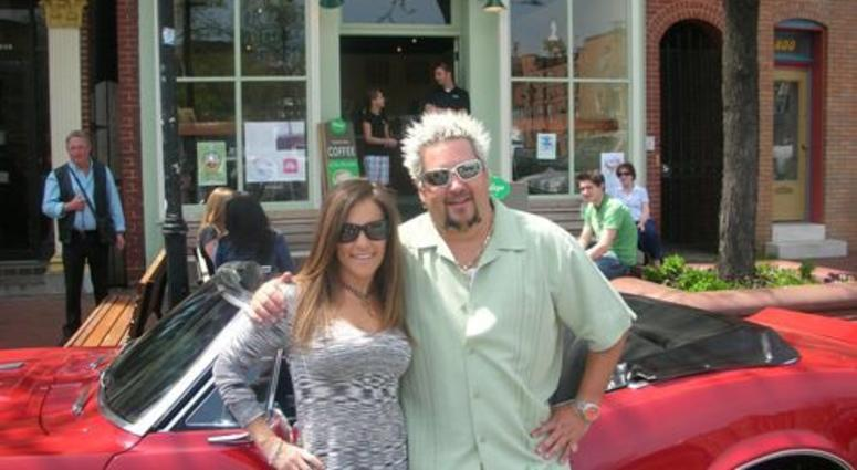 Downtown Diane with Guy Fieri in Baltimore City