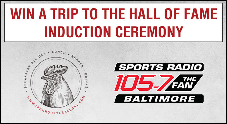 Win a trip to the NFL Hall of Fame Induction Ceremony