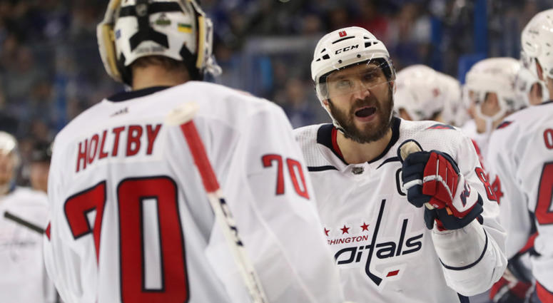 """Ovechkin, Caps Gearing up for """"Biggest Game of their Lives"""""""
