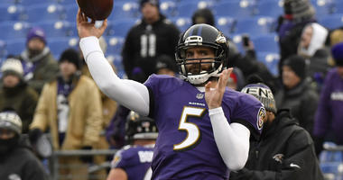 Joe Flacco highlights importance of relationships with new receivers