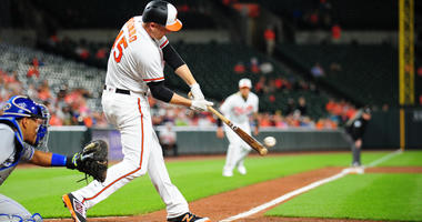 Trumbo, O's Snap Seven-Game Skid