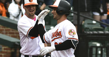 Bats Come Alive As O's Rout Rays 17-1