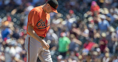 The Orioles lose fifth straight as they fall 5-4 to the Twins