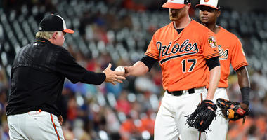 The Orioles lose third straight as they fall 5-4 to the Rangers