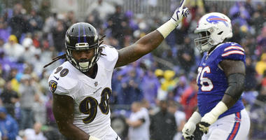 Za'Darius Smith Named AFC Defensive Player of the Week
