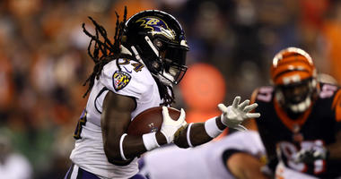 Alex Collins Misses Wednesday Practice With Illness