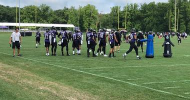 Training Camp Today: Defense makes plays in passing game