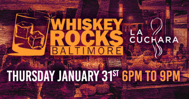 Whiskey Rocks Baltimore