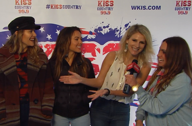 Backstage Xfinity Interview With Runaway June At Chili CookOff