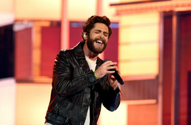 Thomas Rhett performs onstage during the 54th Academy Of Country Music Awards