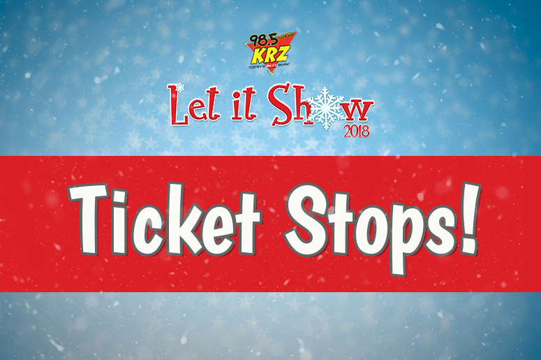 Let It Show Ticket Stops
