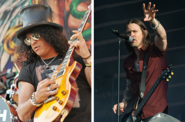 Slash and Myles Kennedy