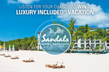 WIN A LUXURY INCLUDED® SANDALS RESORTS VACATION!