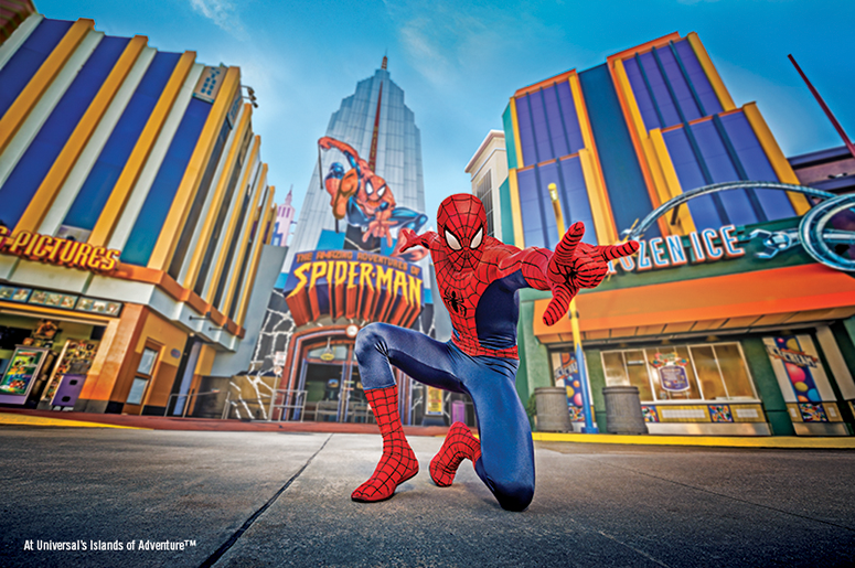 Spiderman at Universal Orlando Resort