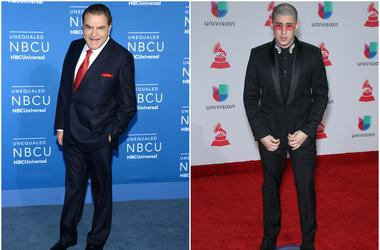 Don Francisco and Bad Bunny