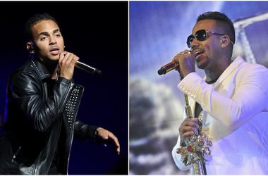 Ozuna and Romeo Santos