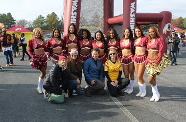 El Zol Deportes en el partido de Los Redskins vs. Houston Texans