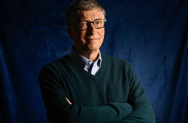Portrait of Bill Gates