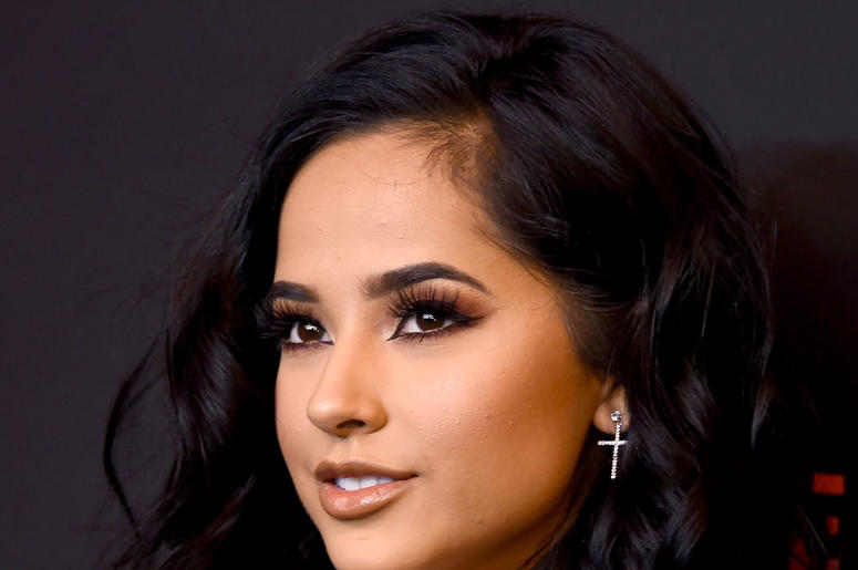 Becky G arrives at Spotify's 2nd Annual Secret Genius Awards at The Theatre at Ace Hotel on November 16, 2018 in Los Angeles, California.