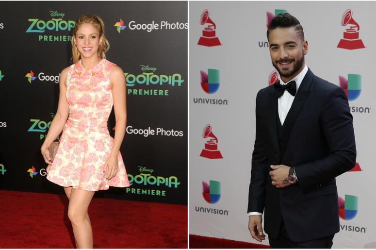 Shakira and Maluma