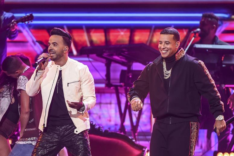 Luis Fonsi and Daddy Yankee perform