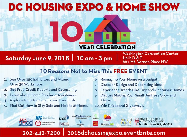 10th Annual DC Housing Expo and Home Show