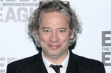 Director Dexter Fletcher attends the 'Eddie The Eagle' New York screening at Chelsea Bow Tie Cinemas in New York, NY, on February 23, 2016.