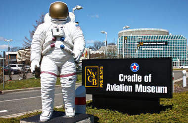 Cradle of Aviation Museum Sign