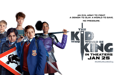 The Kid Who Would Be King Movie Poster 2019