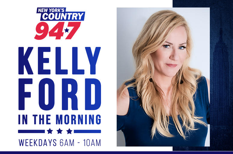 Kelly Ford in the Morning on NY's Country