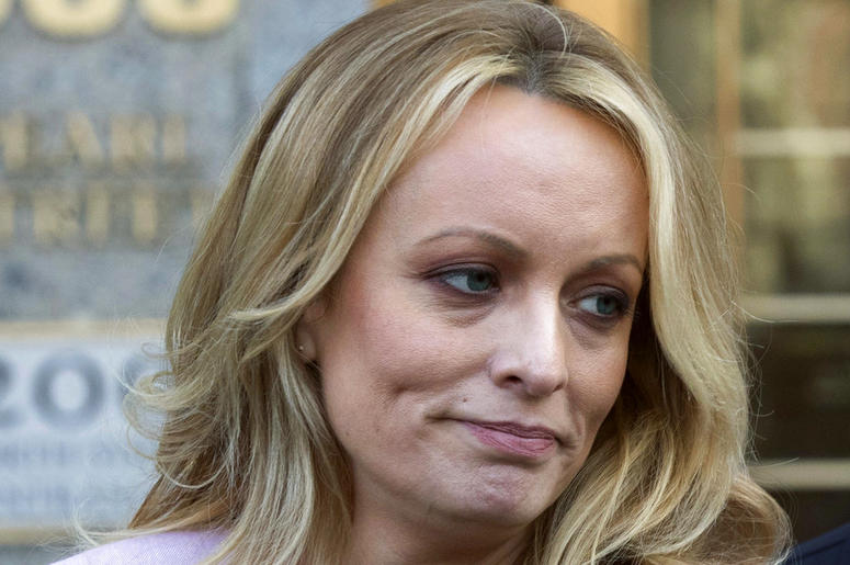 Image result for Stormy Daniels crying