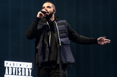 Drake performs in concert