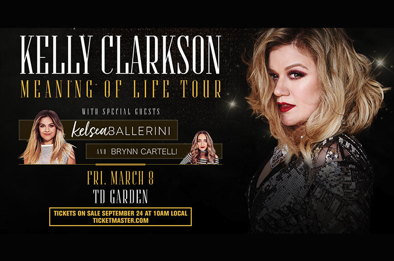 Kelly Clarkson Meaning Of Life Tour