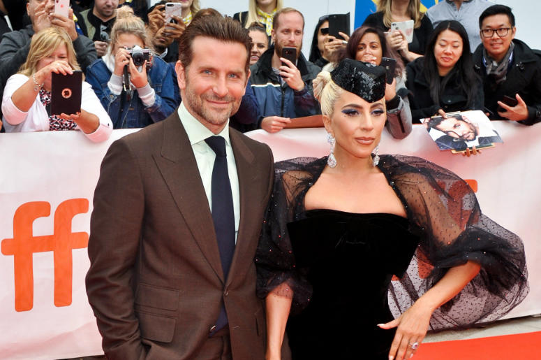 "Bradley Cooper, Lady Gaga, Stefani Germanotta. ""A Star Is Born'"" premiere during 2018 Toronto International Film Festival at Roy Thomson Hall."