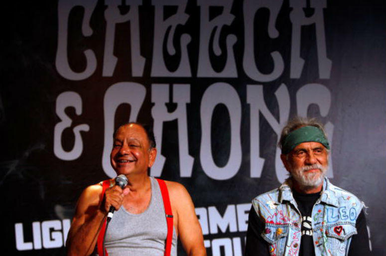 "Richard ""Cheech"" Marin and Tommy Chong"