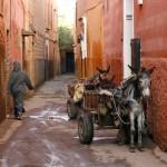 Small street in Marrakech medina_41740393