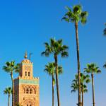 Koutoubia Mosque minaret in Marrakech_154266389