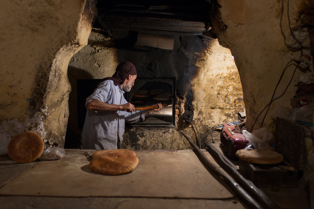 traditional bread in Marrakesh_340999445