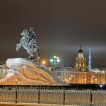 ronze Horseman-monument to Peter I on the Senate Square_124559500
