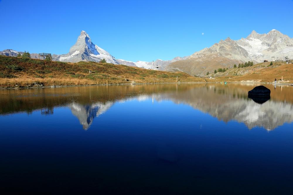 Lake Leisee at Sunnegga, Zermatt_250531969