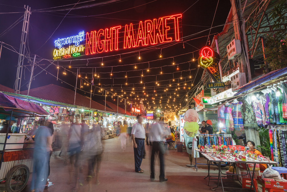 night market of Siem Reap_255600607