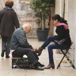 shoeshine in Lisbon_358440779