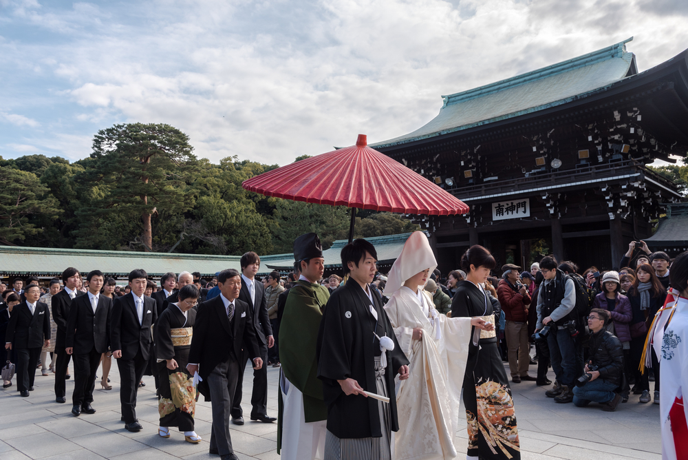 Japanese Marriage at Meiji Shrine_363332465