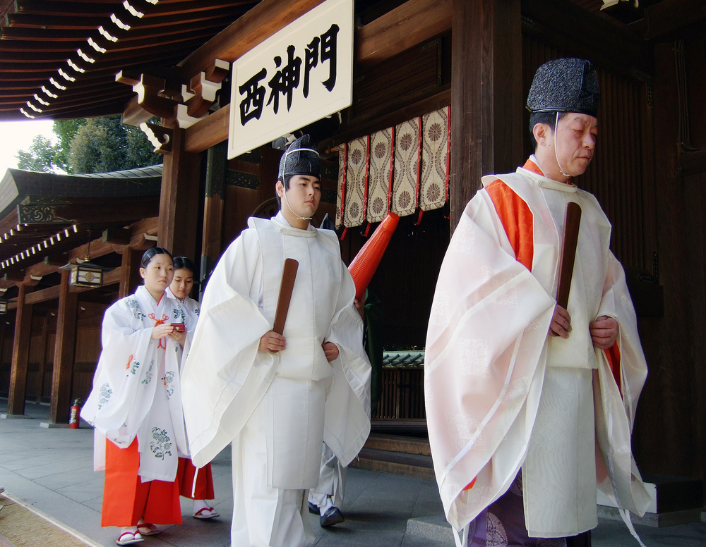 Traditional wedding in Meijijingu _27471082