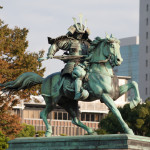 great samurai Kusunoki Masashige at the East Garden_127945790